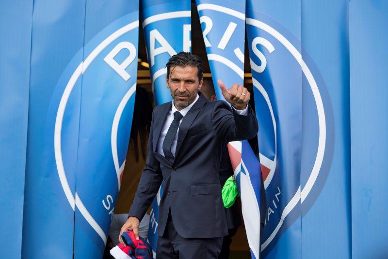 Gianluigi Buffon ya entrenó con el Paris Saint Germain