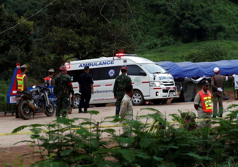 Los niños rescatados de la cueva en Tailandia no asistirán a la final del Mundial