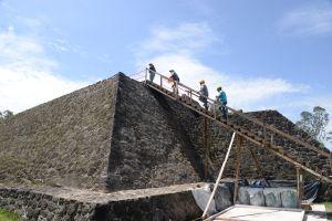 VIDEO: El antiguo templo que el terremoto descubrió en México