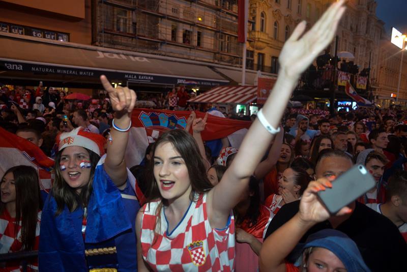 Rusia 2018: Festejos en Croacia por el pase a la final causaron sismos