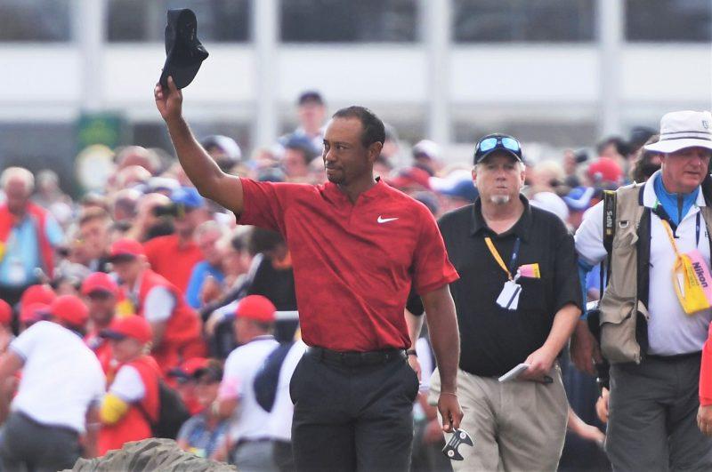 Tiger Woods se quiebra al no poder ganar el British Open para sus hijos