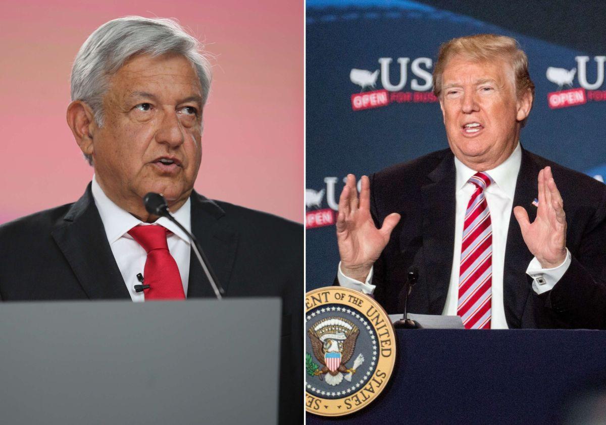 AMLO y Trump han platicado vía telefónica.