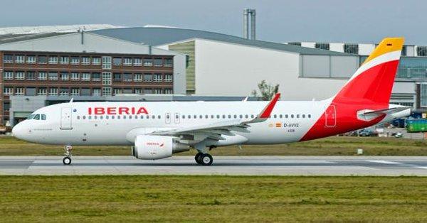 Avión de Iberia aterriza de emergencia en el aeropuerto de la CDMX