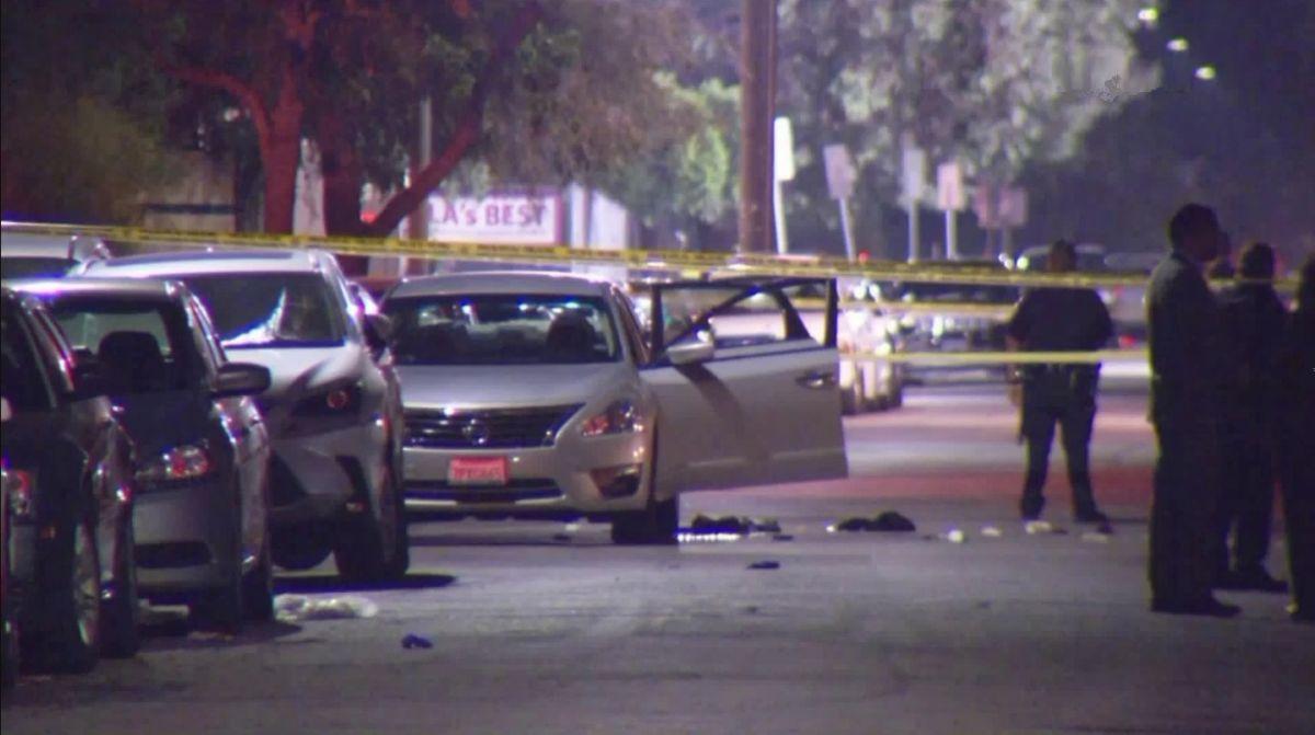 El incidente ocurrió cerca de la intersección de Plummer Street y Noble Avenue.