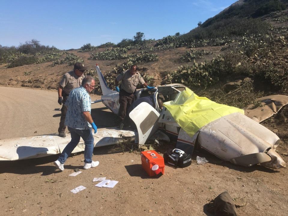Tres heridos graves en accidente aéreo en Catalina Island