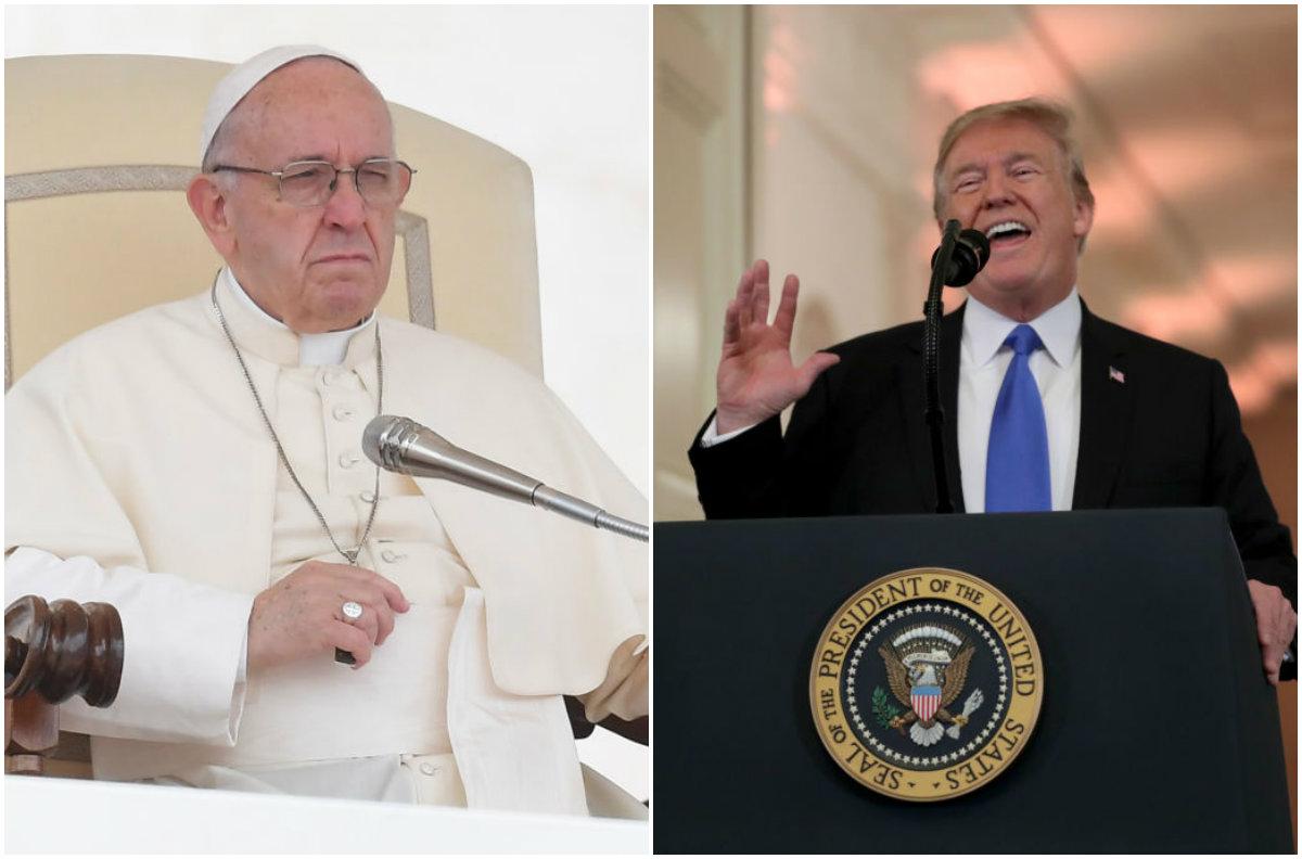 ¿En qué superó Donald Trump al papa Francisco?