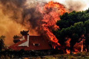 Video: Incendios forestales en Atenas dejan al menos 60 muertos