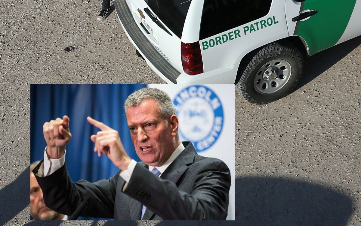 Patrulla fronteriza acusa al alcalde de Nueva York de falta migratoria