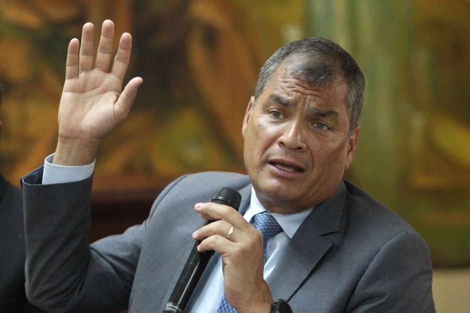 Ecuador solicitará a Interpol la detención preventiva del expresidente Rafael Correa