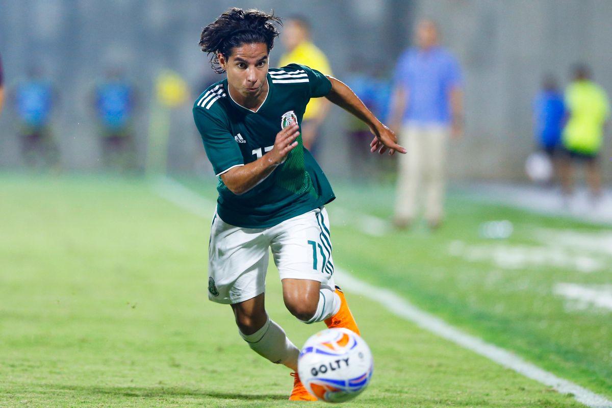 Diego lainez se perfila para ser una de las figuras de México en Qatar2022