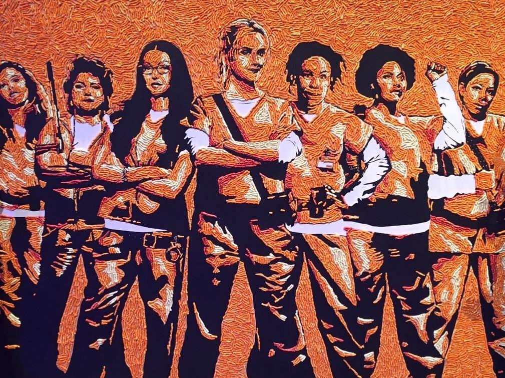Panel de 'Orange is the New Black' a base de panchitos.