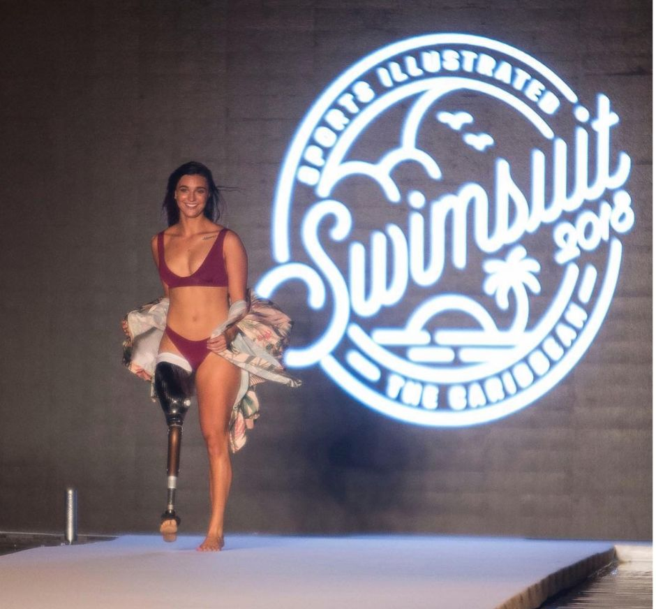 Conoce a la primera deportista amputada que es portada de la revista Sports Illustrated