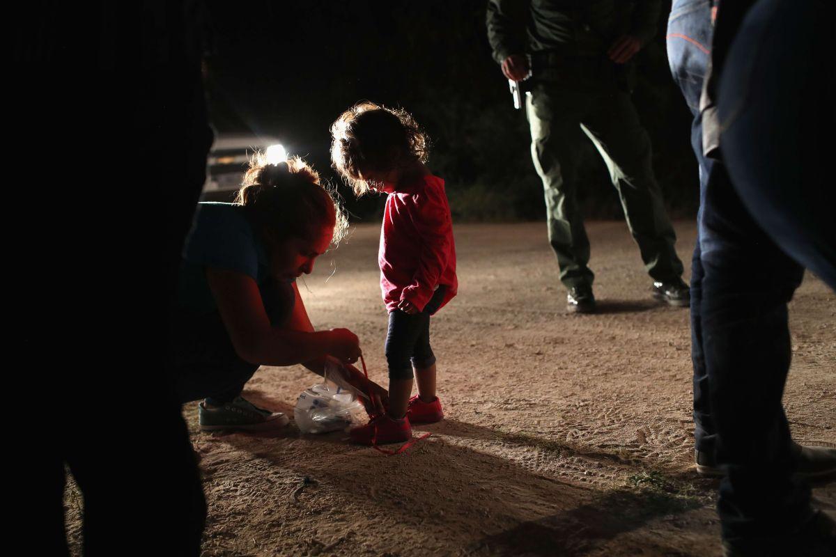 Activista afirma que siguen separaciones de niños y padres en frontera sur