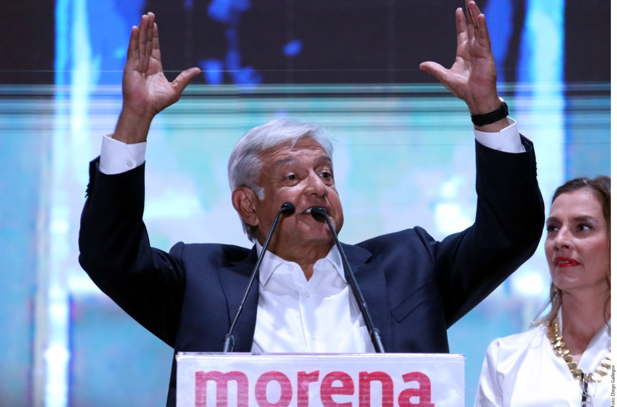 Andrés Manuel López Obrador, virtual presidente de México.