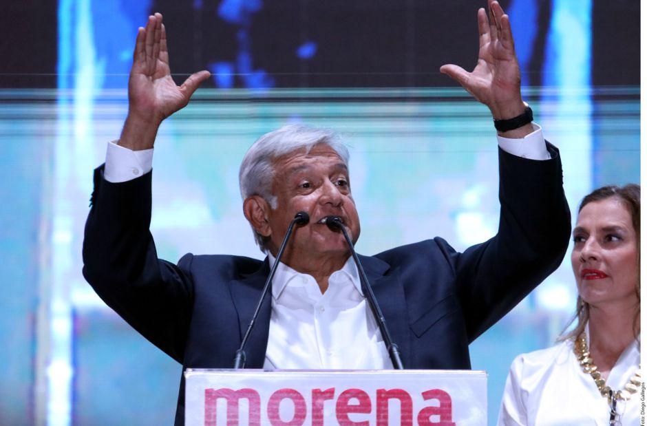 Partido de AMLO arrasa en el Congreso y gubernaturas, le arrebata a Peña su bastión