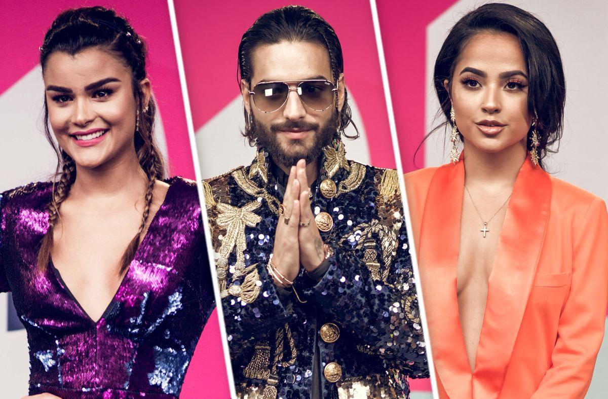 Fotos de la alfombra roja de Premios Juventud 2018 de Univision