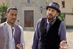 ¡Sueño cumplido!: Romeo Santos y Juan Luis Guerra juntos (VIDEO)