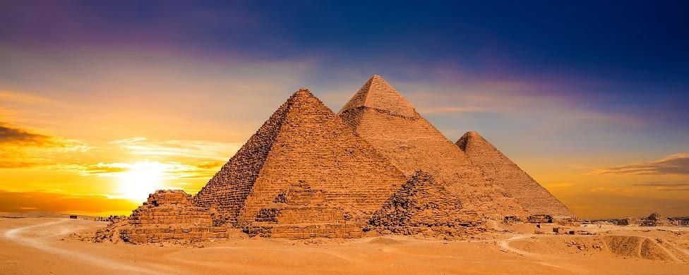 La Gran Pirámide fue construida circa 2580-2560 a.C.