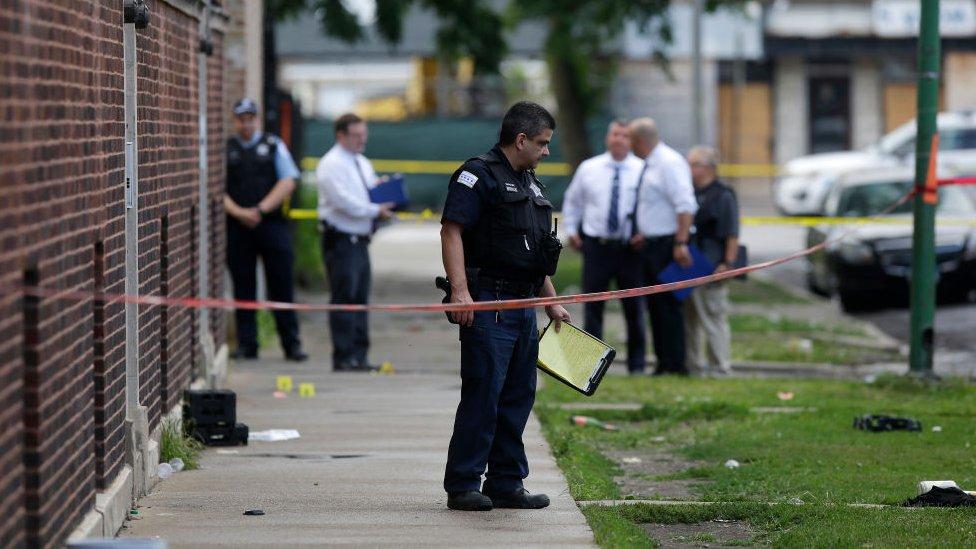 Chicago vivió el fin de semana más violento del año.