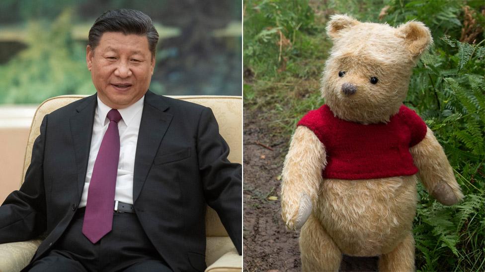Xi Jinping fue comparado con Winnie the Pooh.