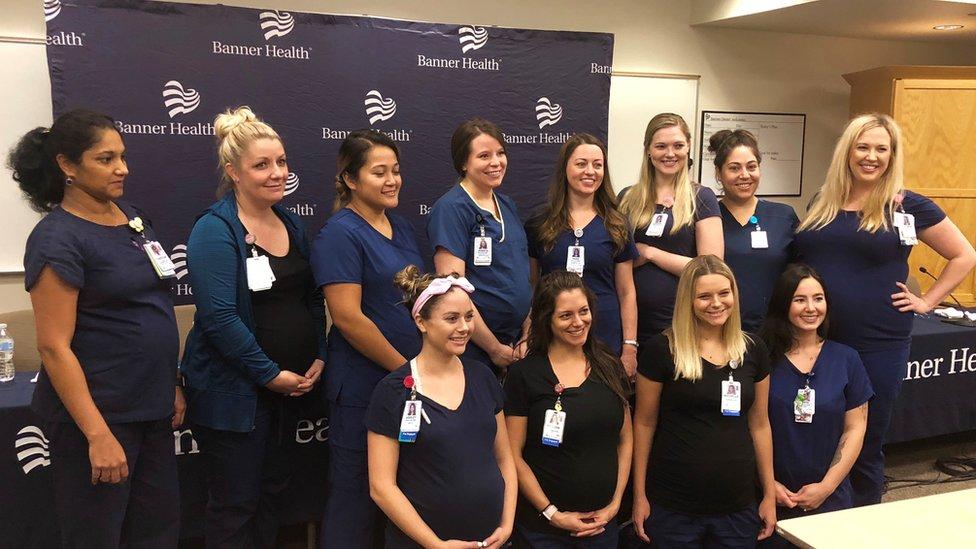El curioso caso de las 16 enfermeras embarazadas en un hospital de Arizona