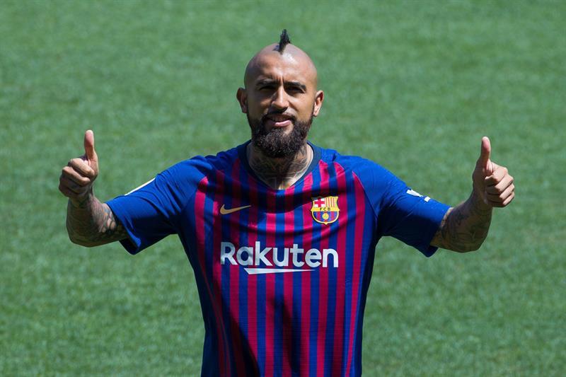 """Yo vine a Barcelona a ganar la Champions"": Arturo Vidal"