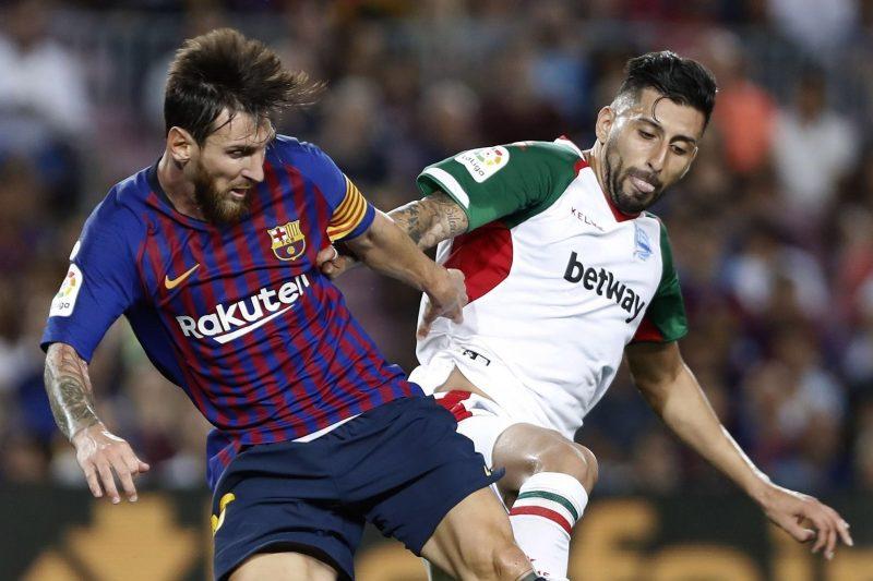Barcelona y Messi van por todo en la Liga española en esta temporada. (Foto: EFE/Andreu Dalmau)