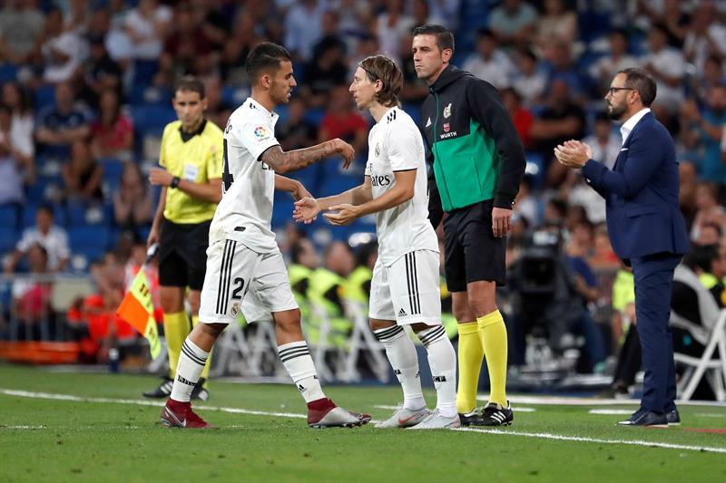 Modric, el astro madridista de cláusula irreal que aún no salta como titular en La Liga