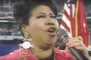 El día que Aretha Franklin hizo llorar a miles con el himno en una Serie Mundial