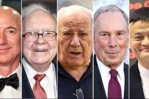¿Cuál fue el primer trabajo de los más ricos del mundo?