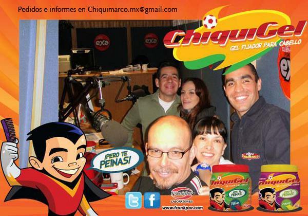 Marco Antonio Rodríguez lanzó hace algunos años el Chiquigel