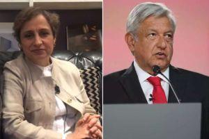 La promesa de AMLO a Carmen Aristegui