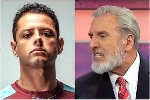 Chicharito por fin le contestó las directas e indirectas al periodista Carlos Albert