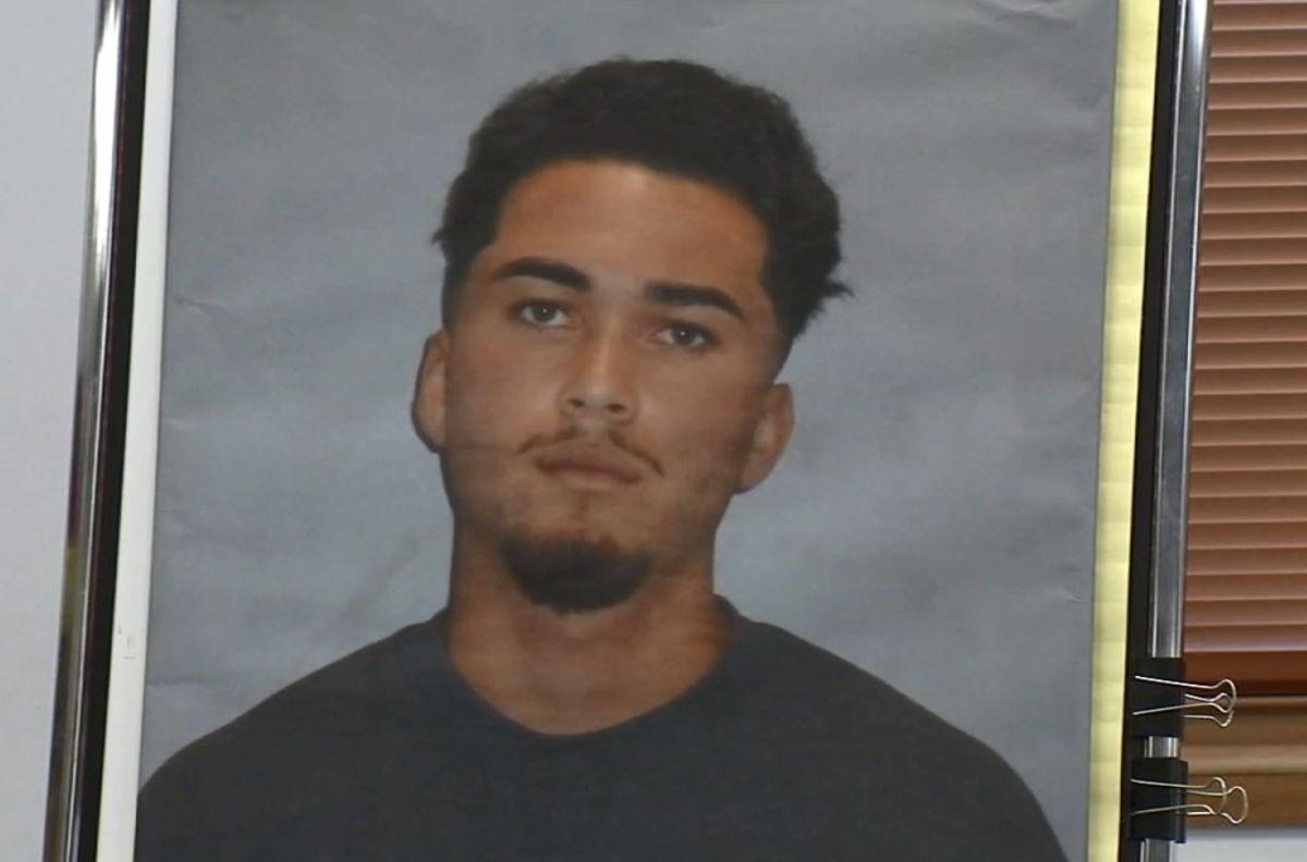 Davis Moreno-Jaime, de 19 años.
