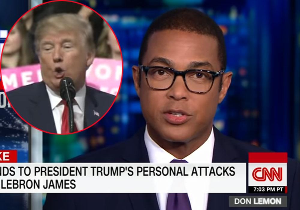 Don Lemon en CNN Tonight.