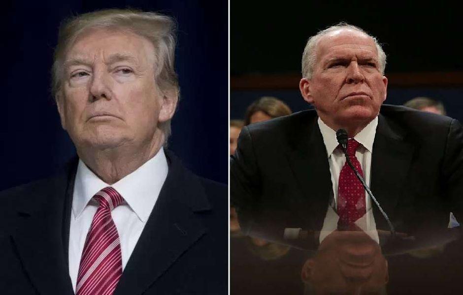 Trump retira autorización de seguridad a John Brennan, uno de sus principales críticos