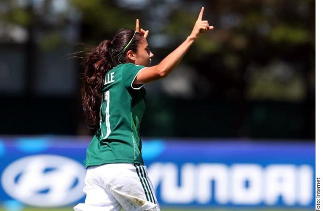 La mexicana Lizbeth Ovalle está nominada al mejor golazo del Mundial Sub-20