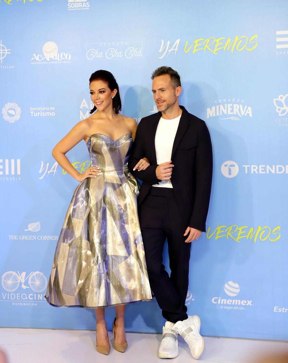 Fernanda Castillo de 'El Señor de los Cielos' y su novio Erik Hayser sin planes de tener hijos