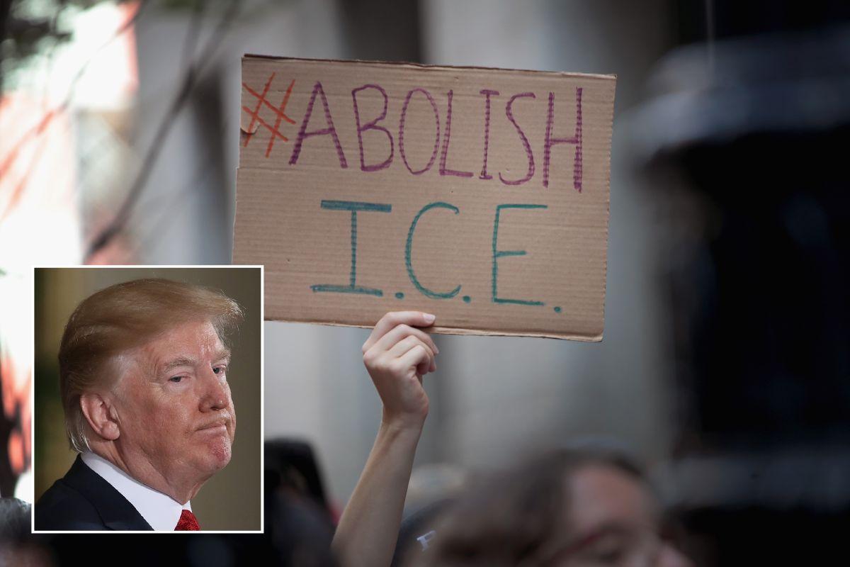 """Trump pide ayuda a líderes para defender a """"héroes"""" de ICE y Patrulla Fronteriza"""