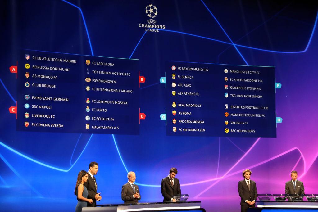 """El sorteo de la Champions League deparó varios """"grupos de la muerte"""""""