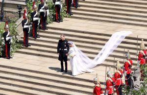 Meghan Markle revela el detalle más romántico y secreto de su velo de novia
