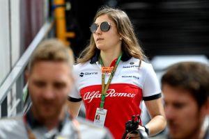 Tatiana Calderón, la colombiana que busca un sitio en la Fórmula Uno