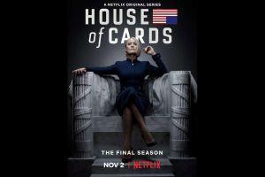 ¡Por fin! Nexflix estrenará la última temporada de House of Cards el 2 de noviembre