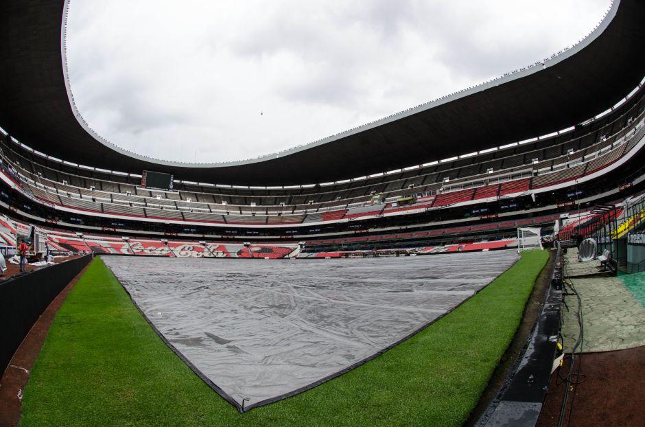 Tarkett Sports niega fallos en el césped del Estadio Azteca
