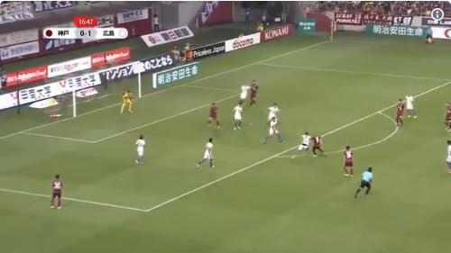 Andrés Iniesta volvió a hacer un golazo en Japón, el segundo en 5 días