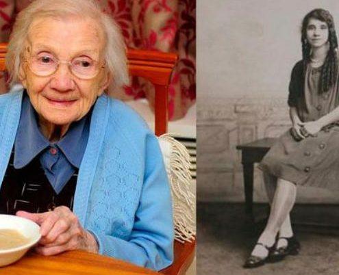 Mujer de 109 años revela el secreto para una larga vida: evitar a los hombres