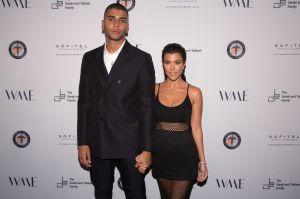 Kourtney Kardashian reacciona a mensaje en Instagram de su ex Younes Bendjima