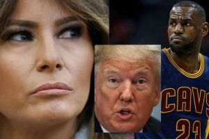 Melania decide no enfrentar a Trump y se aleja del apoyo que le dio a LeBron James