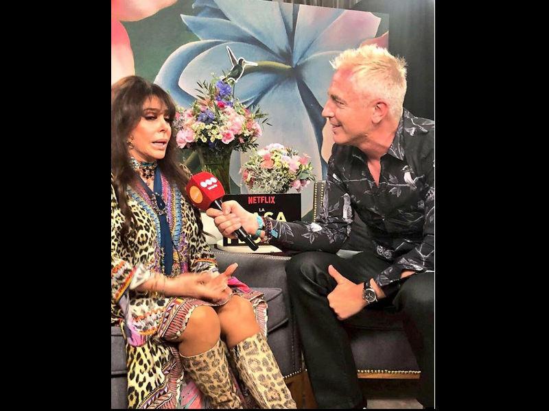 Entrevistada por Marley, Verónica Castro recordó una nota a Luis Miguel