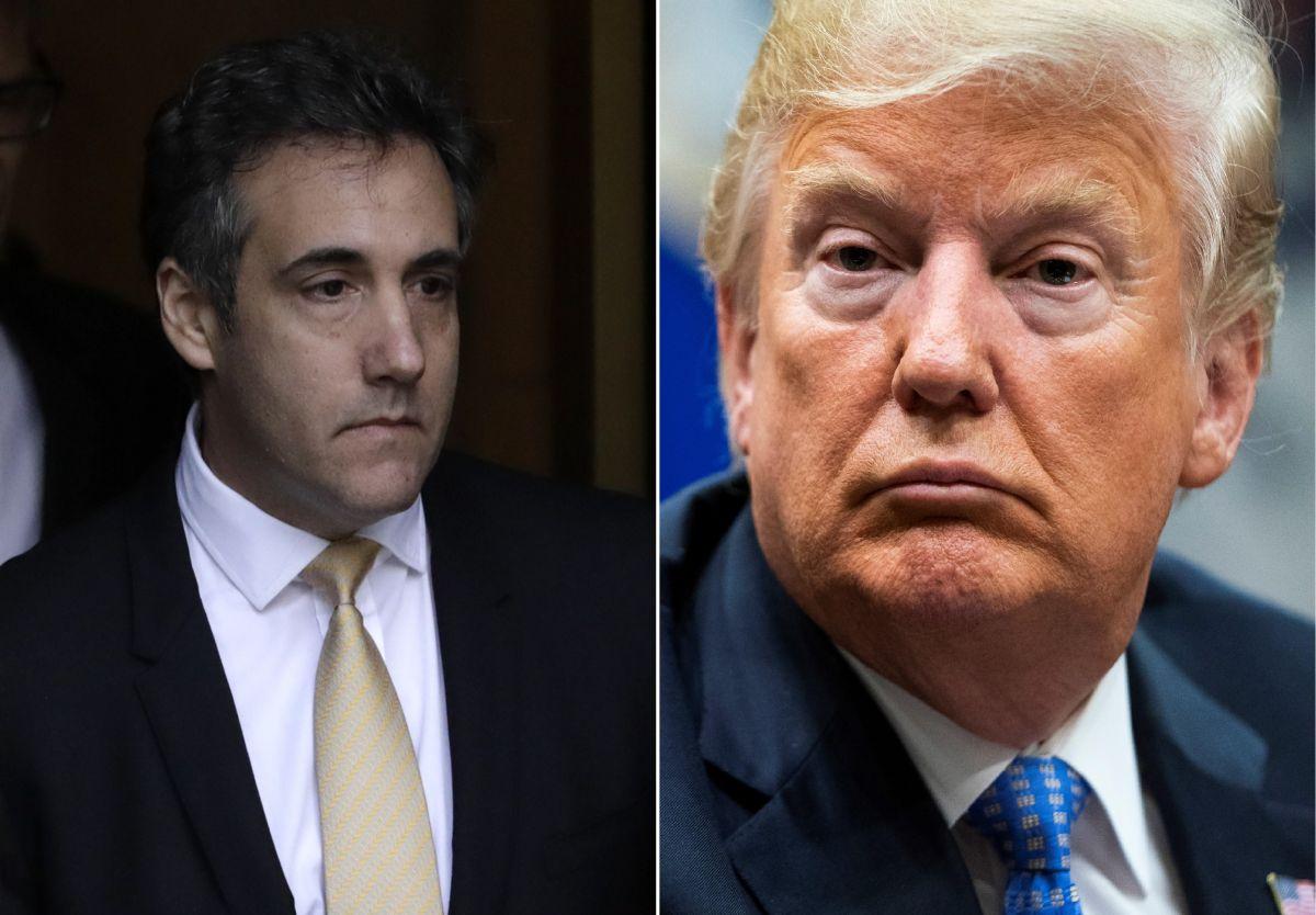 """Trump trata de distanciarse de Cohen, pero asegura que su exabogado no cometió """"crímenes"""""""
